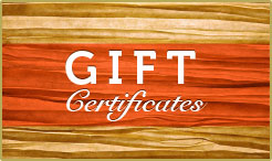 Amish Country Lodging Gift Certificates